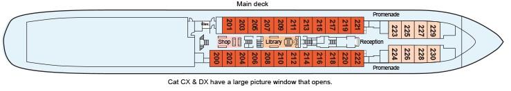 Viking Akun - Main Deck