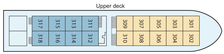 Viking Mandalay - Upper Deck