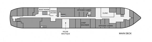 Ocean Nova - Main Deck