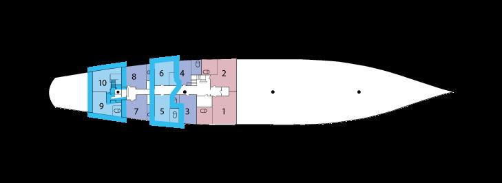 Sea Cloud - Main Deck