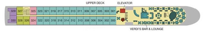 Excellence Rhone - Upper Deck