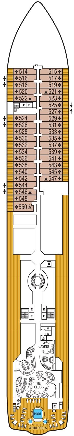 Seabourn Encore - Deck 05