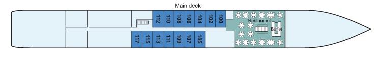 Viking Beyla - Main Deck