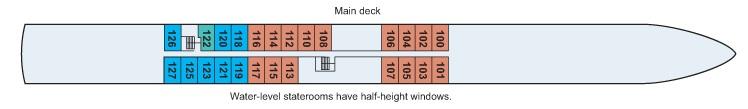 Viking Legend - Main Deck