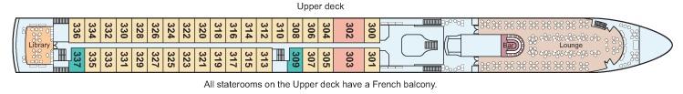 Viking Prestige - Upper Deck