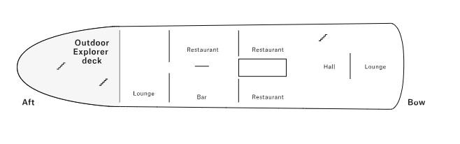 Nordstjernen - Saloon Deck