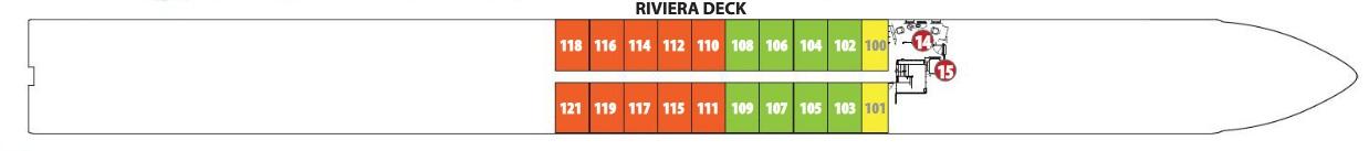 Emerald Star - Riviera Deck