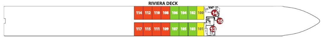Emerald Liberte - Riviera Deck