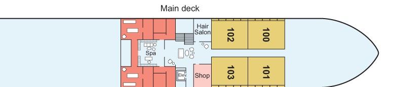 Viking Ra - Main Deck