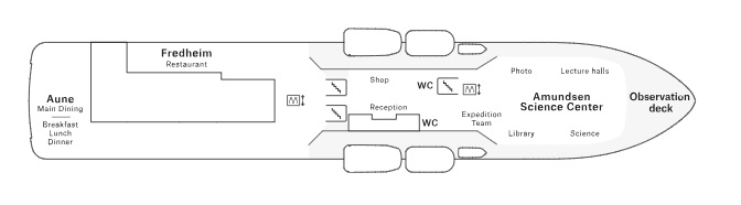 Roald Amundsen  - Deck 6