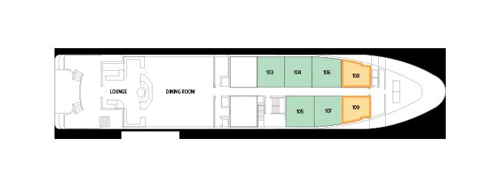 Harmony V - Main Deck
