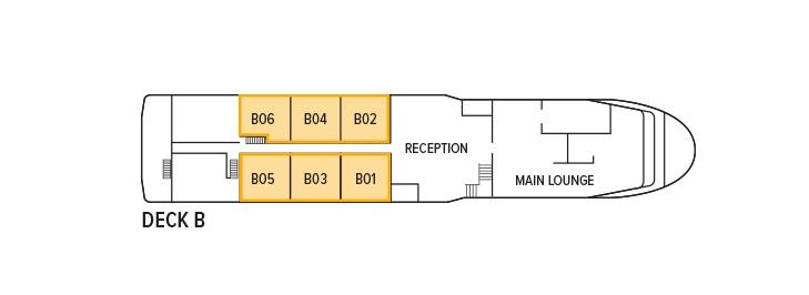 Oberoi Philae - Deck B