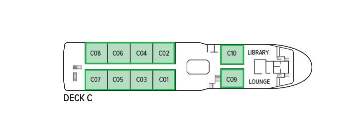 Oberoi Philae - Deck C