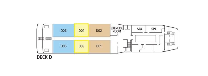 Oberoi Philae - Deck D