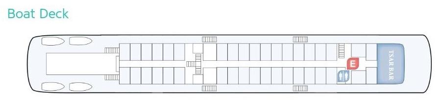 Rossia - Boat Deck