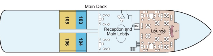 Antares - Main Deck