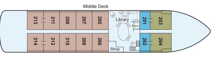Antares - Middle Deck