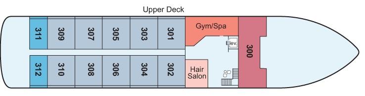 Antares - Upper Deck
