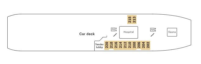 Nordnorge - Deck 02