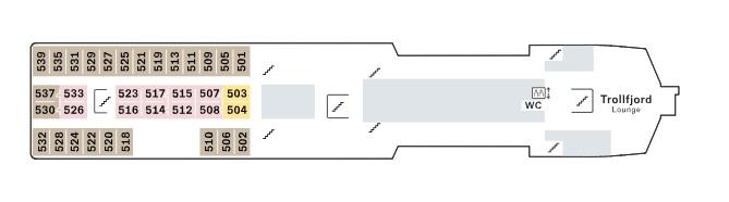 Vesteralen - E Deck