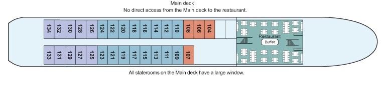 Viking Fontane - Main Deck