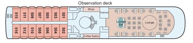 Viking Emerald - Observation Deck